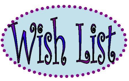 Wendy's Amazon Wish List | Wendy The Wanderer