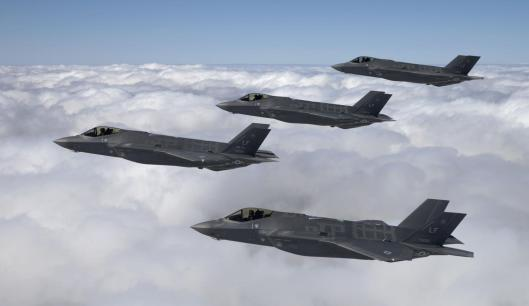 F-35 Flyovers