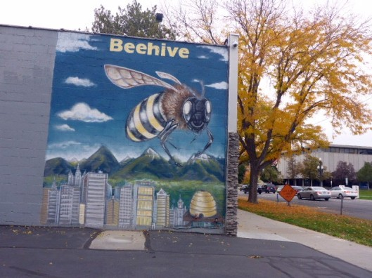 beehive-sign