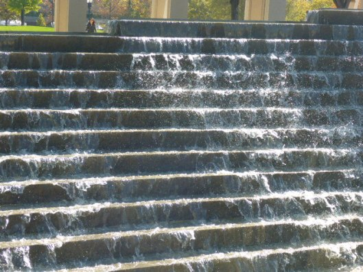 library-falling-water