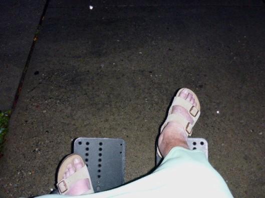 sandal-feet