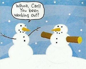 snowman-arms