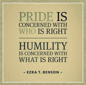 pride-humility