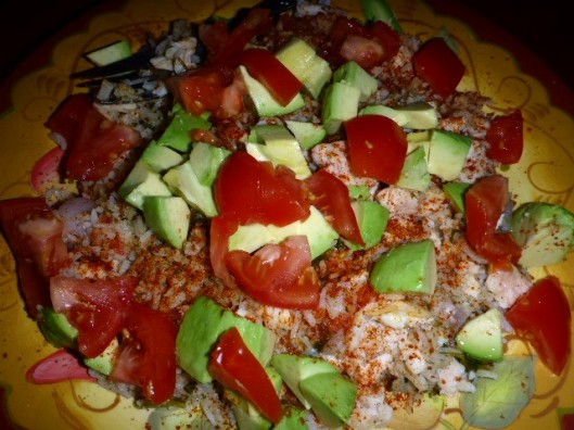 rice-chicken-avocado-tomato-chile