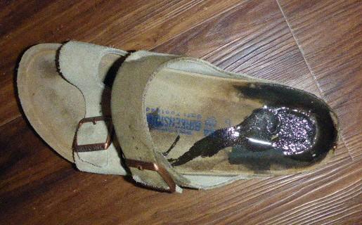 soaked-sandal